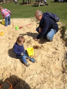 Grandad builds another tunnel...